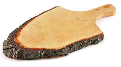 Rindenbrett mit Griff 35 cm