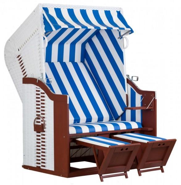 Strandkorb – Fehrmann white, Der Original Meeresstrandkorb, Dessin 991