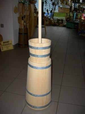 Butterfass - Stampfbutterfass für 8 Liter