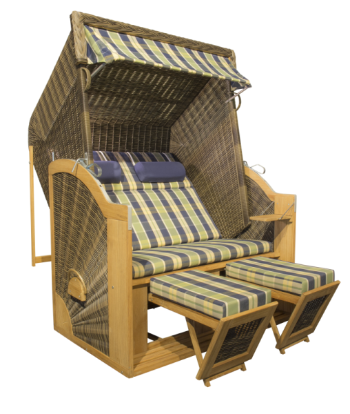 Strandkorb PURE Classic XL Sun Anthique Brown - Dessin 431