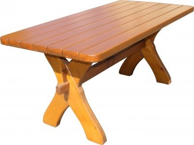 Tisch Modell Hornberg Fichte massiv,Länge 1,60m