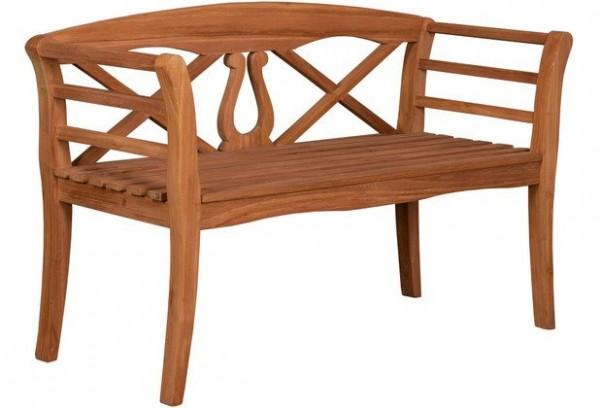 Woodie Bank Harfe 130 cm Basic-Teak