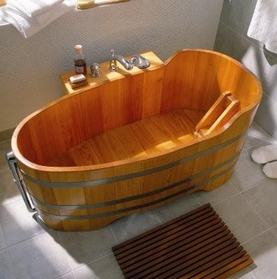 Badewanne Lärche 151x73cm. Luxus Ausführung,komplett.