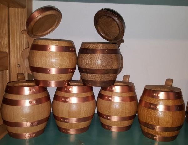 Holzbierkrug 1/2 Liter 2te Wahl nur zur Dekoration