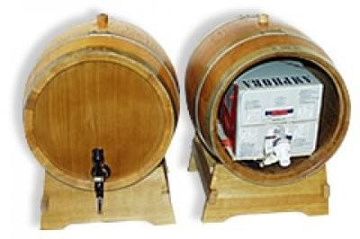 Holzfass für 10Liter Bag in Box Delux kompl. 1 Stück