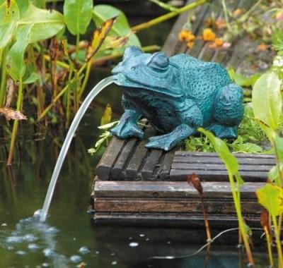 Wasserspeier Frosch Klein Speier