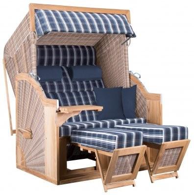 PURE Comfort XL Teak Standkorb Dessin 415